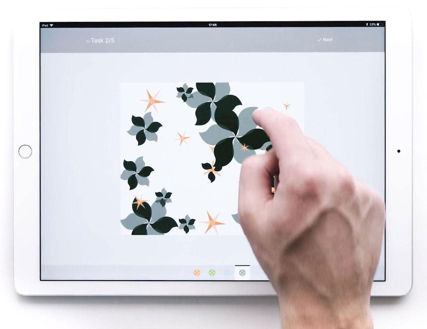 Zoom auf Tablet