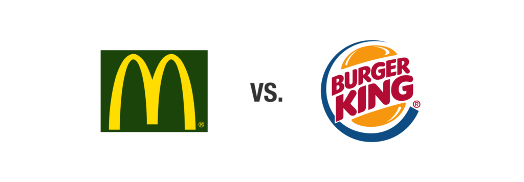 Burger King vs. McDonalds