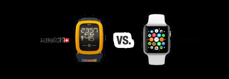 Swatch vs. Apple - Uhrenvergleich