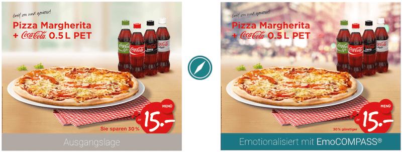 Case Bild einer Coca Cola Werbekampagne
