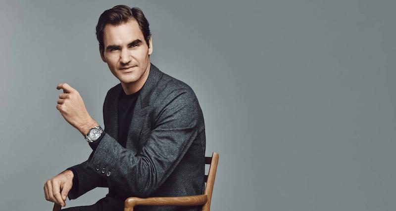 Roger Federer als Ambassador von Rolex