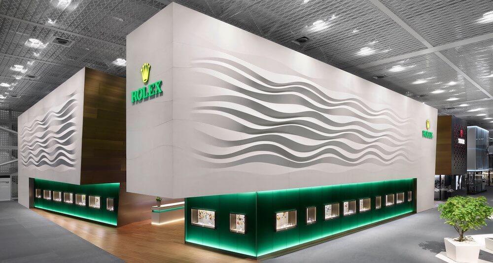 Bild von Rolex an der Baselworld