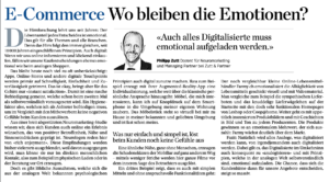 Gastbeitrag von Philipp Zutt in der Handelszeitung