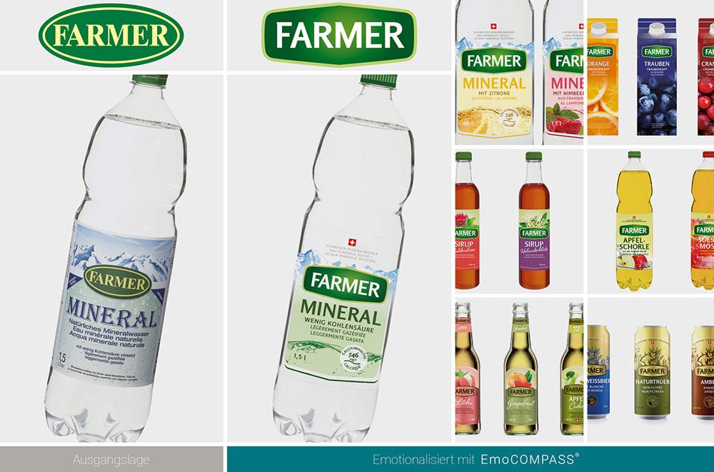 Alte Farmer Getränke-Welt vs. neue Welt