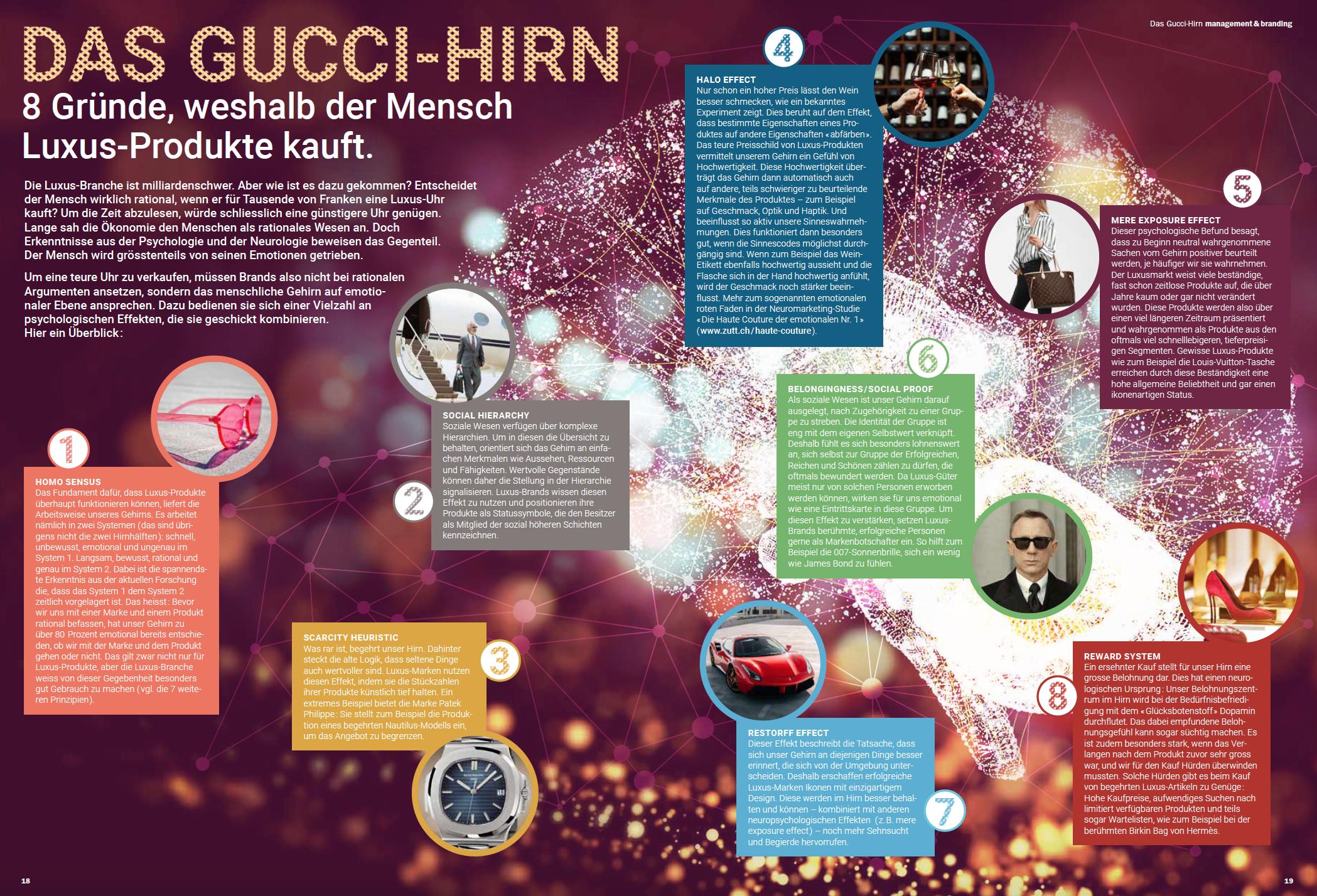 Die Luxus-Branche ist Milliarden-schwer. Aber wie ist es dazu gekommen? Für das persönlich-Magazin haben wir eine Übersicht zusammengestellt.