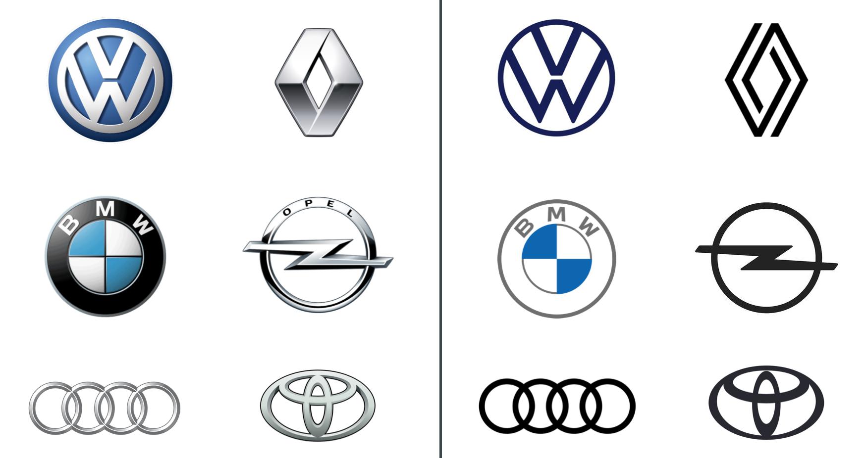 Die neuen Auto-Logos im Neuromarketing Check
